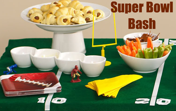 Super Bowl Party foods