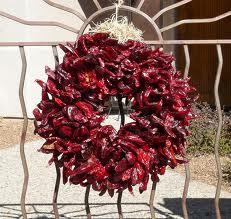 Red chili wreath
