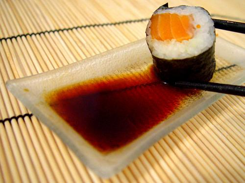salmon roll