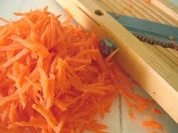 how to shred carrot
