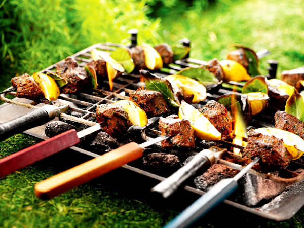 Spicy Lamb Kebabs - Spicy Lamb Stareters