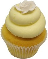 Sponge Lemony Cupcakes With Lemon Cream Cheese Frosting