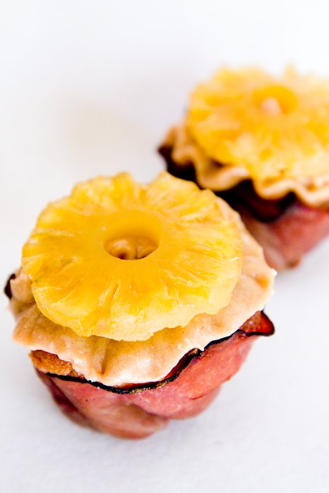 Spongy Cupcakes With Raisins And Ham