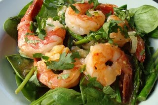 Spring Shrimp And Asparagus Salad - Refreshing Asparagus Salad