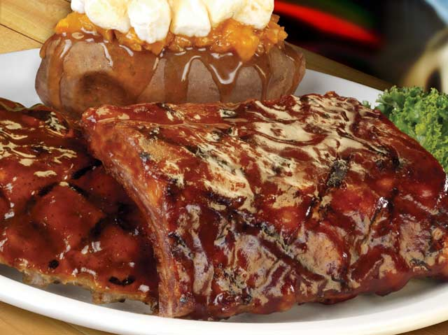 Ribs on the Texas Roadhouse menu