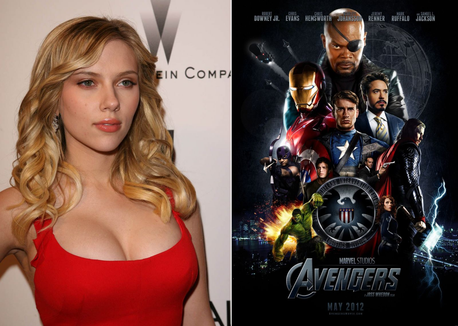 Scarlett Johansoon & The Avengers