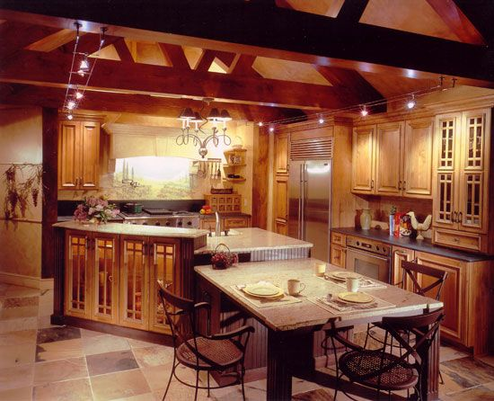 How to decorate a tuscan kitchen afreakatheart for Tuscan kitchen design