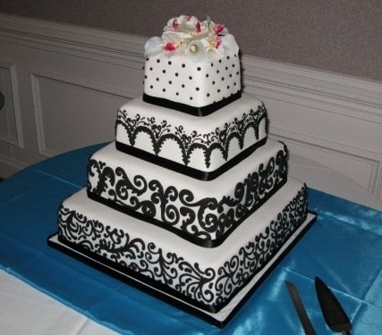 Baking Wedding Cake