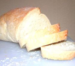 Stale bread to make croutons at home