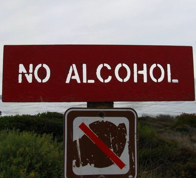 Give up alcohol for Lent