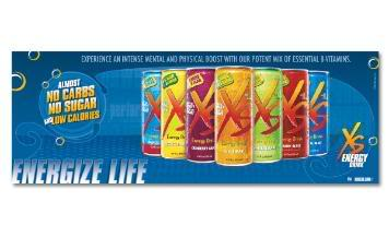 XS Is A Prominent Caffeine Free Enegry Drink