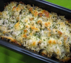 Baked Pasta using breadcrumbs