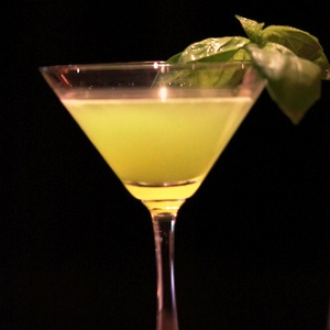 Basil Garnish