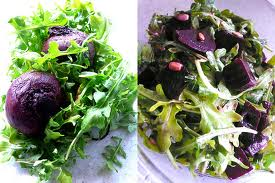 Beetroot Dressing -- Dressed Beetroots