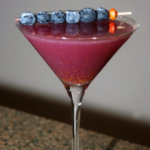 Blueberry Garnish