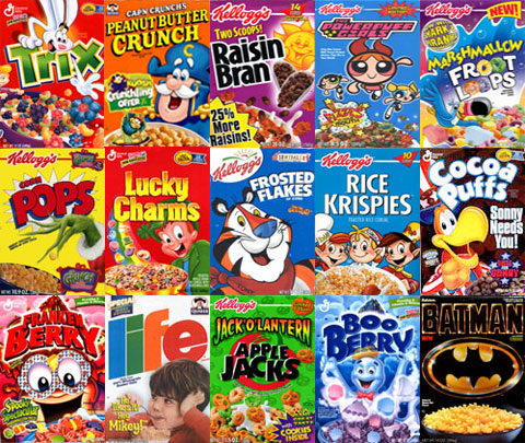 Breakfast cereals 1