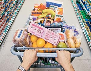 Stick to your budget while grocery shopping