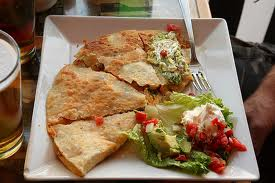 Chicken And Bean Quesadillas