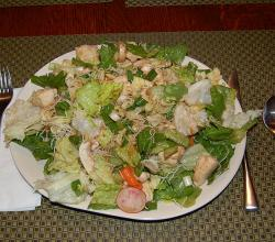 A chicken salad