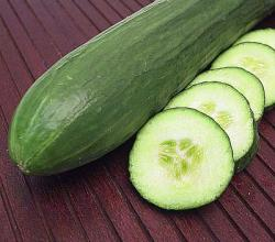 Cucumber Garnish Ideas