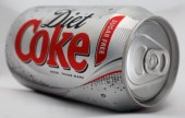 Aspartame in diet coke