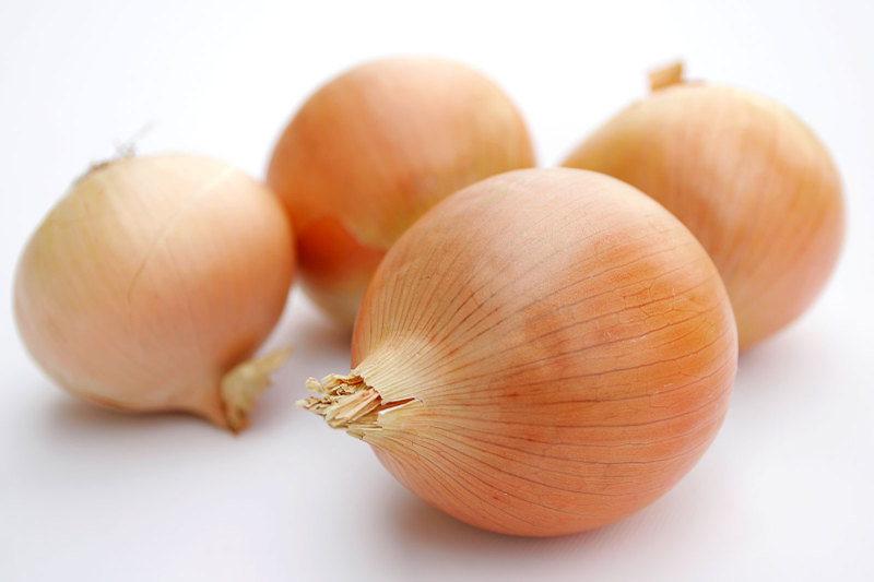 Have onion and garlic to fight off  fibroid