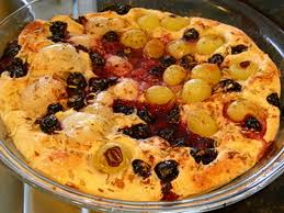 Fruit Foccacia — Diabetic Dessert
