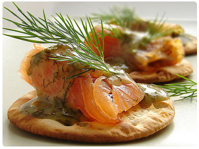 Swedish gravlax