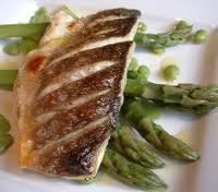 Caveman diet menu-Grilled Sea Bass