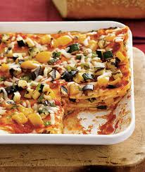Tray of Veggie Lasagna