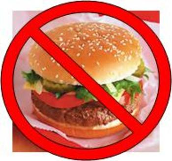 No to Fast Food