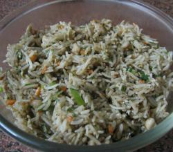 Lemon oregano rice