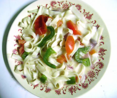 Fettuccine: typical roman dish