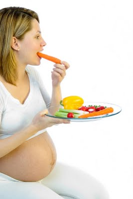 Vegetarian food in pregnancy