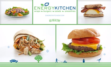 The Energy Kitchen menu