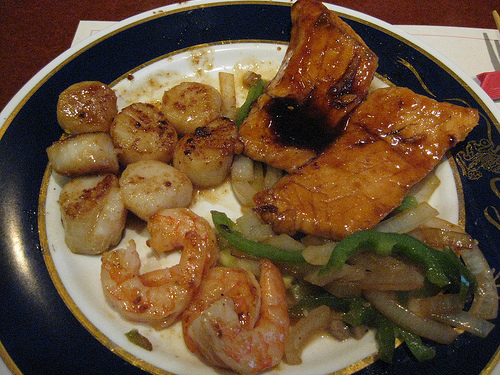 Seafood combination recipes