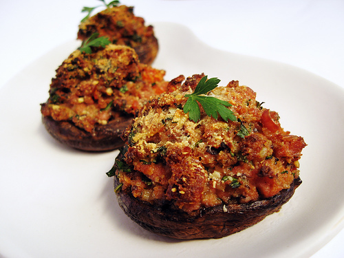 Stuffed Portobello Mushrooms Photos