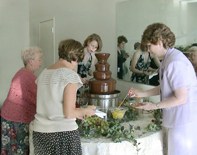 Chocolate fountain 3
