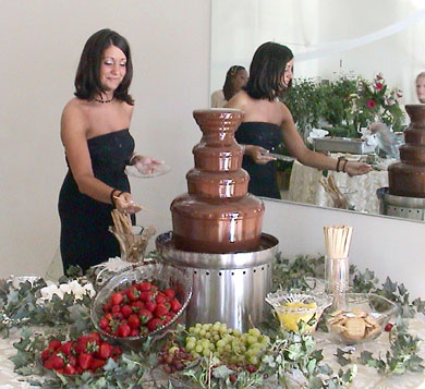 Chocolate fountain 1