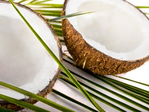 how to eat a coconut and layer the american cusines with a palm of goodness