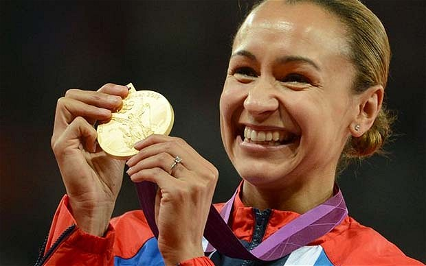 Jessica Ennis Wins Gold