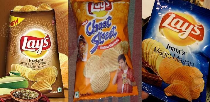 The Indianized flavors of Lay's Potato chips