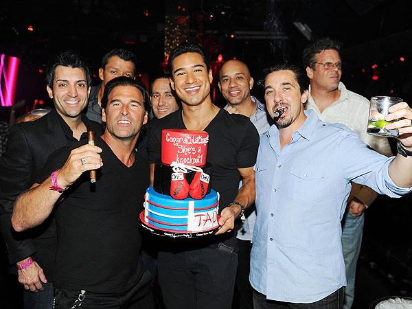 Mario Lopez-Bachelor Party