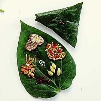 Paan a beetle leaf preparation will color your mouth deep red