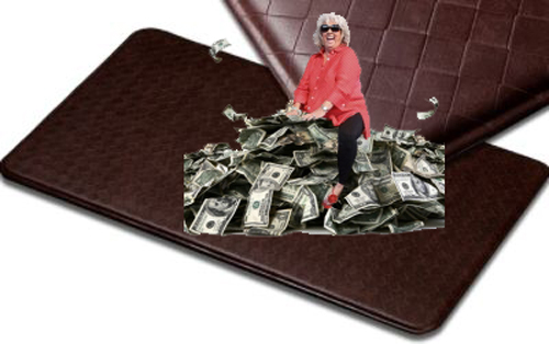 Anti fatigue Kitchen Mats By Paula Deen