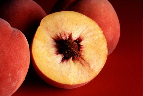 Peaches pits