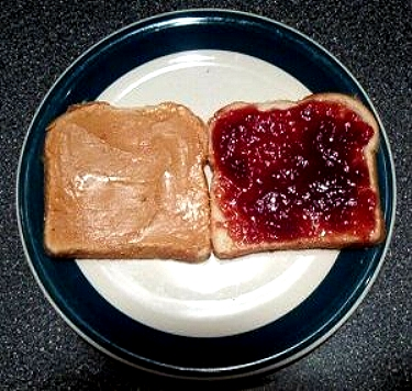 difference between peanut butter and jam
