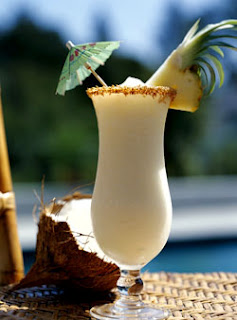 Delicious Pina Colada for the day
