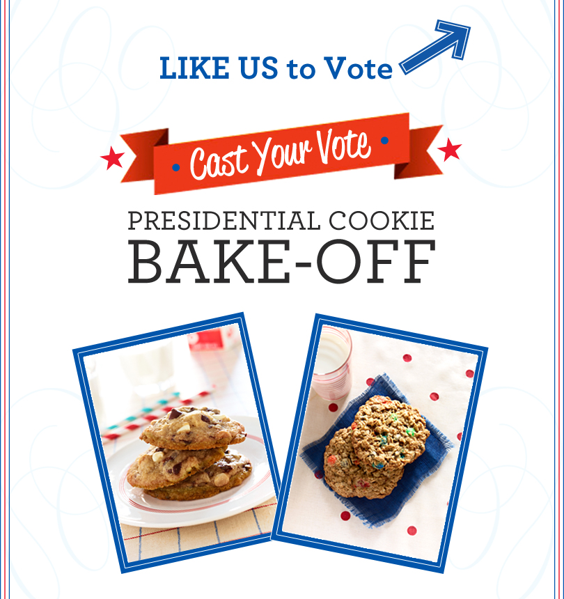 Presidential Cookie Bake Off