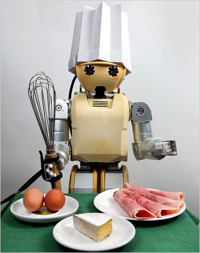 Robot and Food